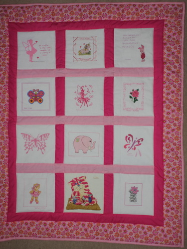 Photo of Tahlia-Annikki's quilt