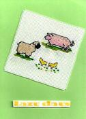 Card for Emergency Quilt: Cute Animals