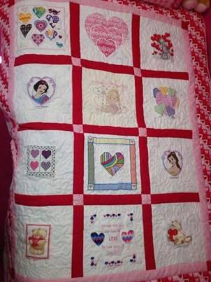 Photo of Lexi Hs quilt