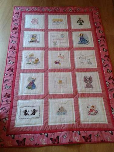 Photo of Kennedy Js quilt