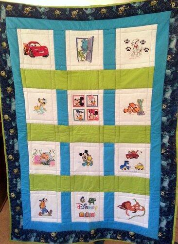 Photo of Ty Ss quilt