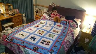 Olly B's quilt