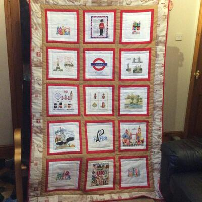 Photo of Thomas Bs quilt
