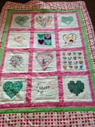 Daisy A's quilt