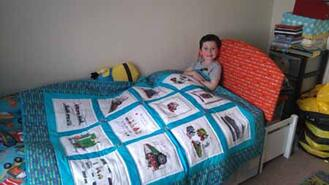 Dylan F's quilt