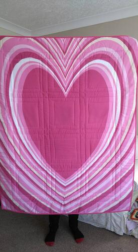 Photo of Isabelle Cs quilt