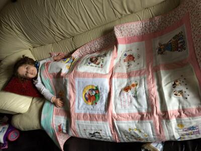 Photo of Lillie-Ann Ps quilt