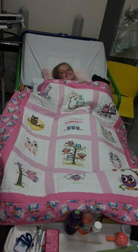 Photo of Libby Cs quilt