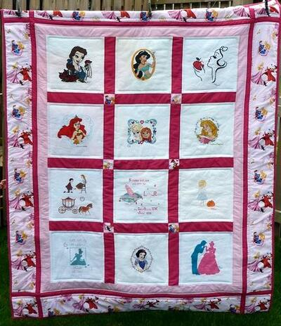 Photo of Lily-Rose Ms quilt