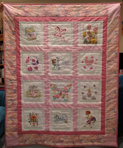 Photo of Bobbie Ms quilt