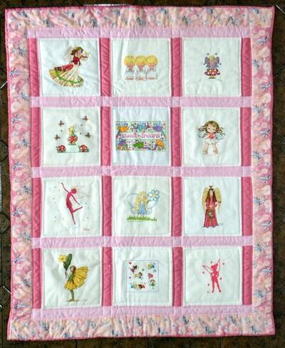 Photo of Summer Ts quilt