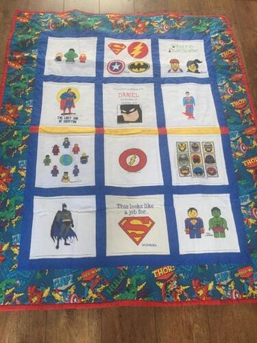 Photo of Daniel Os quilt