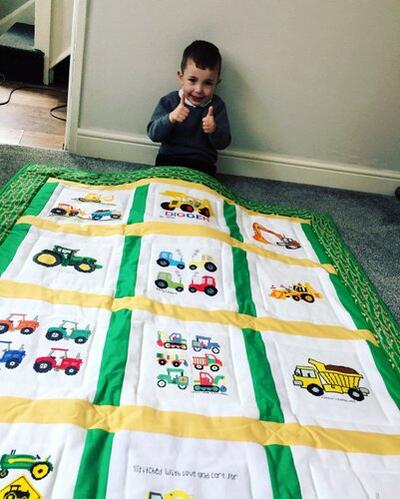 Photo of Caleb Cs quilt