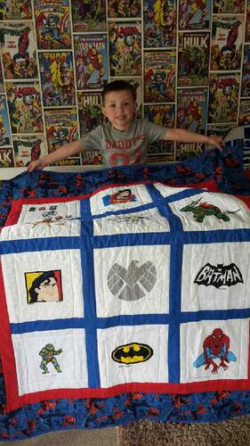 Photo of Ben Ss quilt