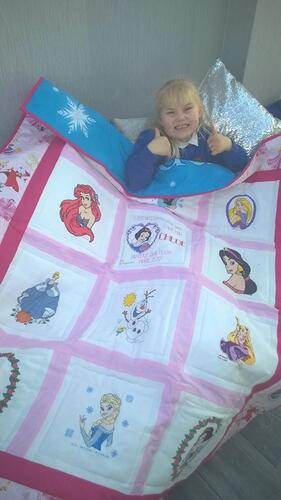 Photo of Chloe Ws quilt