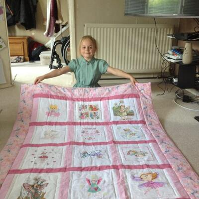 Photo of Ruby Ts quilt