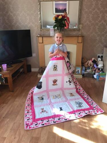 Photo of Darcie Js quilt