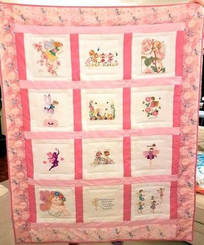 Photo of Demi-Leighs quilt