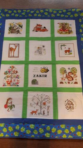 Photo of Zakirs quilt
