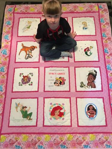 Photo of Emily-Grace Ws quilt
