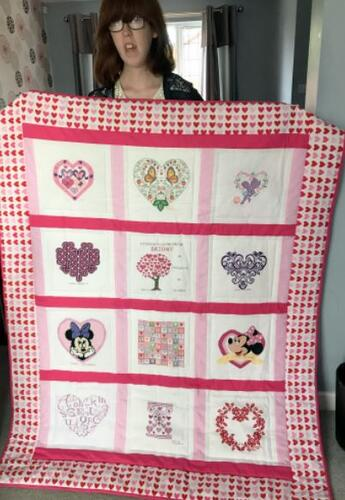 Photo of Briony Ns quilt