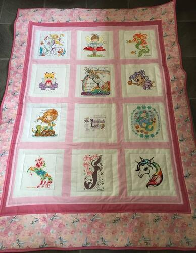 Photo of Savannah-Leighs quilt