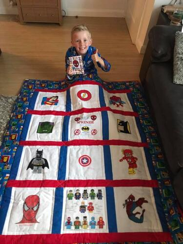 Photo of McKenzie Js quilt