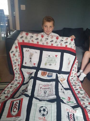 Photo of Charlie Ws quilt