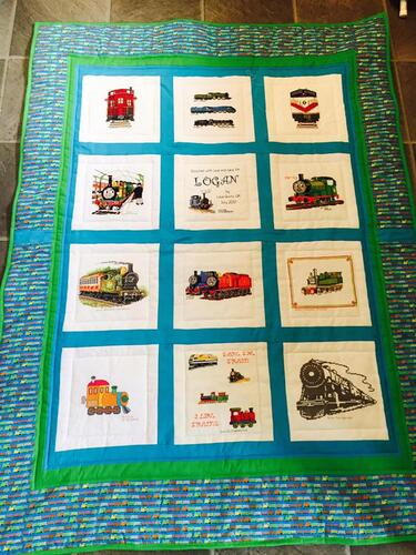 Photo of Logan Ss quilt