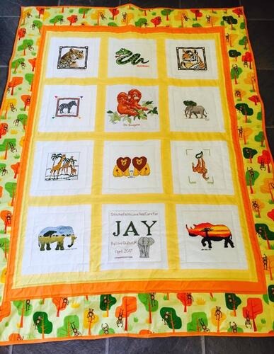 Photo of Jay Ts quilt
