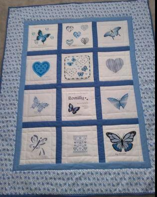 Photo of Romillys quilt