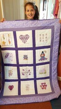 Photo of Hannah Ws quilt