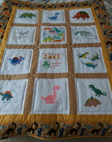 Photo of Jake Ts quilt