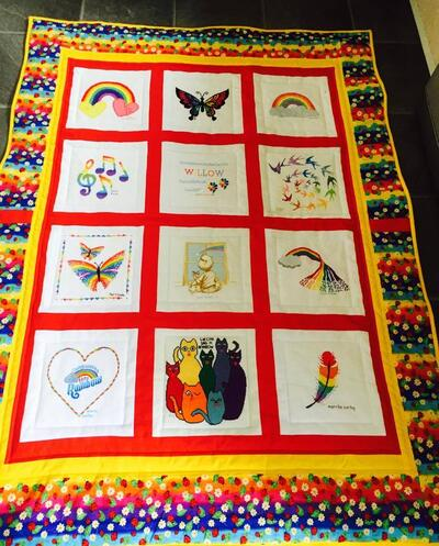 Photo of Willow Ts quilt