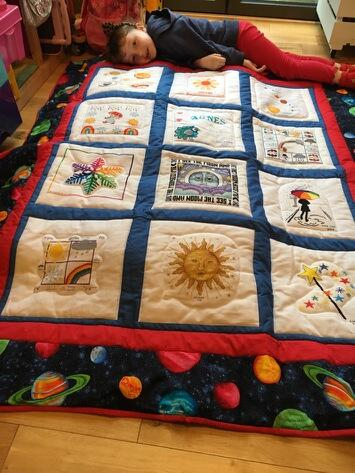 Photo of Agnes Ps quilt