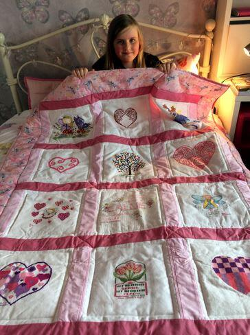 Photo of Callie Hs quilt