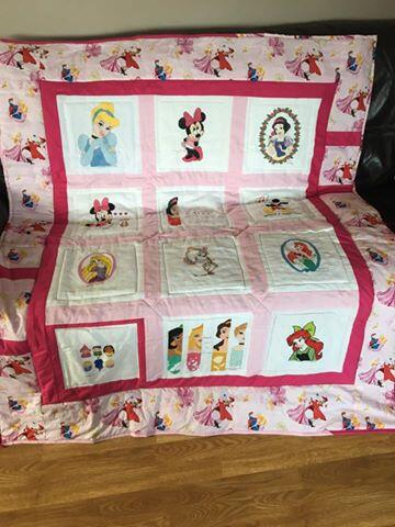 Photo of Daisy Bs quilt