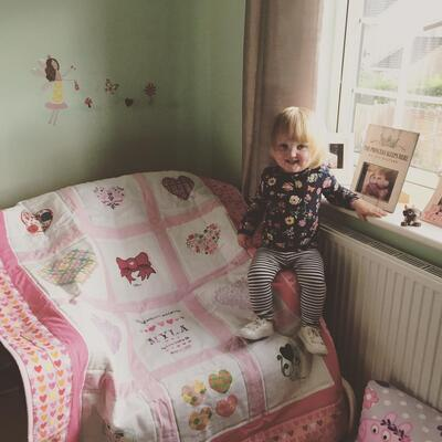 Photo of Myla Cs quilt