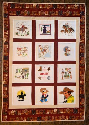 Photo of Chasey Os quilt