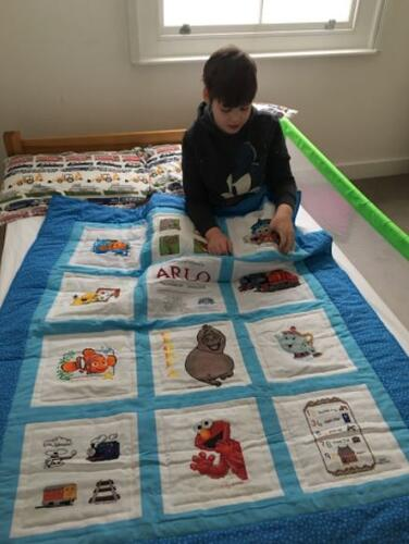 Photo of Arlo Ws quilt