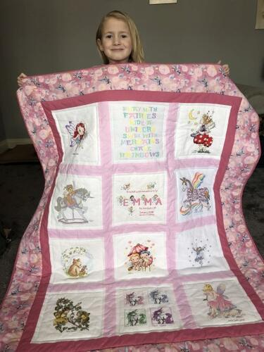 Photo of Emma Fs quilt