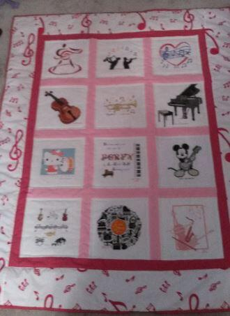 Photo of Poppy Ws quilt