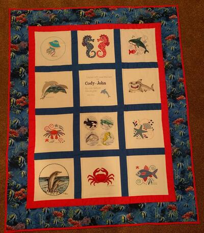 Photo of Cody-Johns quilt