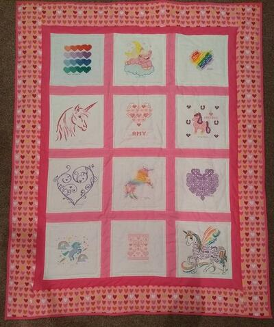 Photo of Amy Ss quilt