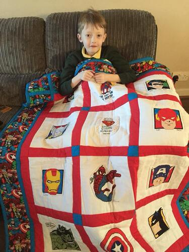 Photo of George Gs quilt