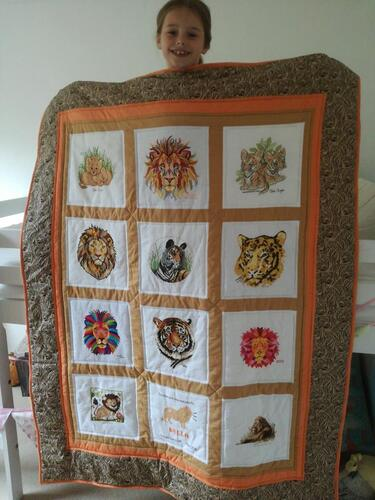 Photo of Bella Ts quilt