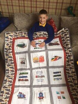 Photo of Alfie Js quilt