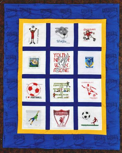 Photo of Tyler Hs quilt