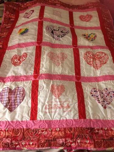Photo of Elisha Ts quilt