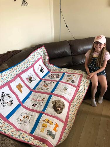 Photo of Ellie Mae Ps quilt